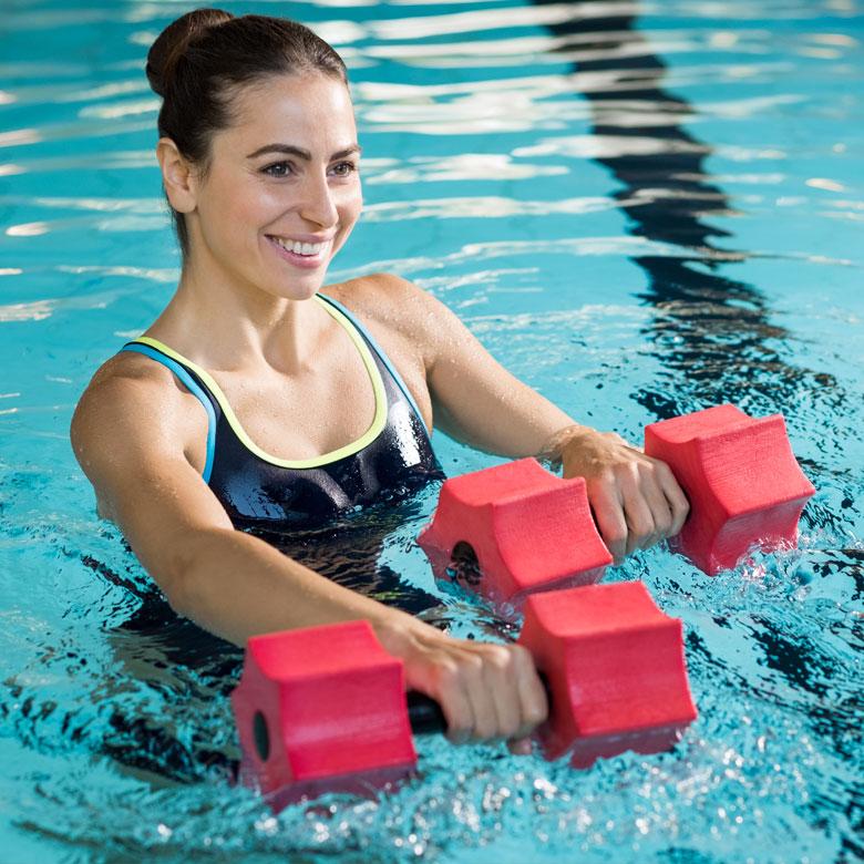 Équiper le bassin pour faire du sport